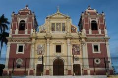 Kyrka för El Calvario, Leon royaltyfri bild
