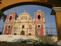 Kyrka för El Calvario, Leon royaltyfria bilder
