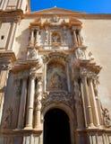 Kyrka för Elche Elx basilikade Santa Maria i Alicante Spanien Fotografering för Bildbyråer