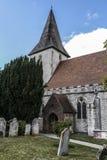Kyrka för helig Treenighet, Bosham, västra Sussex, England UK royaltyfria foton