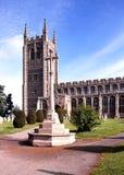 Kyrka för helig Treenighet, långa Melford Fotografering för Bildbyråer