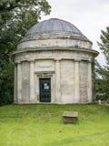 Kyrka för helig Treenighet, lilla Ouseburn, Yorkshire arkivbilder