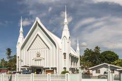 Kyrka för Iglesia ni Cristo i det Bunawan området, Filippinerna Royaltyfria Foton