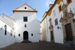 Kyrka för Los Dolores i Cordoba Fotografering för Bildbyråer
