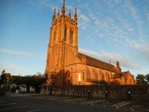 Kyrka för marys för Kirkintilloch kyrkast arkivfoto