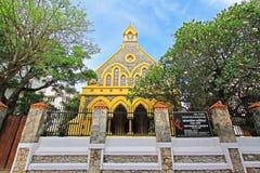 Kyrka för metodist för Galle fort` s - arv för Sri Lanka UNESCOvärld Royaltyfri Bild