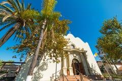 Kyrka för obefläckad befruktning i San Diego den gamla staden royaltyfri bild