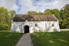 Kyrka för ` s för St Teilo, Wales St Fagans Royaltyfria Foton