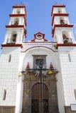 Kyrka för Santo ängelcustodio i den puebla droppen royaltyfri foto