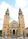 Kyrka för Sibiu sfantatreime arkivbild