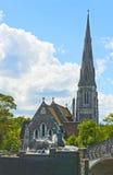 Kyrka för St Albans Arkivfoto