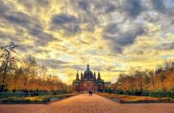 Kyrka för St. Alexander Nevsky royaltyfri fotografi