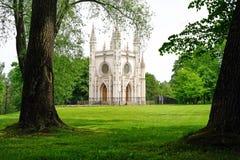Kyrka för St Alexander Nevsky Arkivfoto