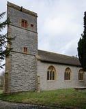 Kyrka för St Andrew ` s, Northover Fotografering för Bildbyråer