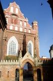 Kyrka för St Anne ` s och kyrka av Bernardine Monastery i Vilnius Royaltyfria Foton