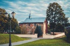 Kyrka för St Boris och Gleb Grodno Vitryssland arkivfoton