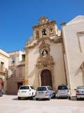 Kyrka för St Catald, Mazara del Vallo, Sicilien, Italien Arkivfoto