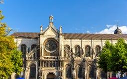 Kyrka för St Catherine i Bryssel Arkivbilder