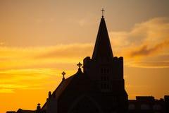 Kyrka för St. Catherines, Meath gata, Dublin Arkivfoton