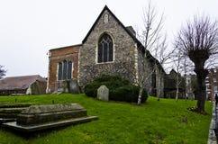 Kyrka för St Dunstans Royaltyfria Bilder
