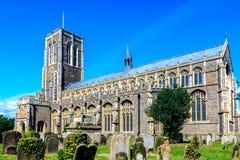 Kyrka för St Edmunds i Southwold royaltyfri bild