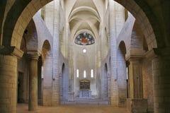 Kyrka för St. Eufemia. Spoleto. Umbria royaltyfri foto