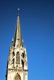 Kyrka för St. Foillan i Aachen Arkivfoton