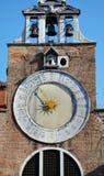 Kyrka för St Giacomo Apostolo, Venedig, Italien, Europa Royaltyfri Bild