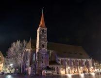 Kyrka för St Jakob Royaltyfria Bilder