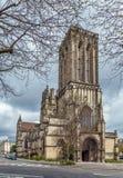 Kyrka för St John ` s, Caen, Frankrike arkivfoton