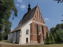 Kyrka för St Ladislaus, Szydlow, Polen royaltyfri foto