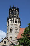 Kyrka för St Ludgeri i Munster, Tyskland Royaltyfria Bilder