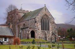 Kyrka för St Margaret ` s, Braemar Arkivfoton