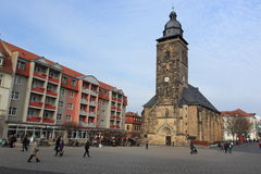 Kyrka för St Margarethen i Gotha Royaltyfri Foto