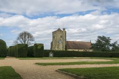 Kyrka för St Mary ` s, strid, Sussex, UK royaltyfri bild