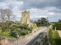 Kyrka för St Mary ` s, strid, Sussex, UK arkivfoto