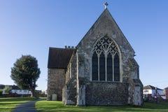 Kyrka för St Marys, Chartham, Kent arkivbild