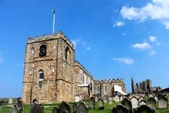 Kyrka för St Marys i Whitby Royaltyfri Foto