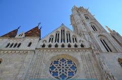Kyrka för St Matthias i Budapest Royaltyfria Bilder