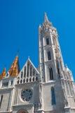 Kyrka för St Matthias i Budapest, Ungern Fotografering för Bildbyråer