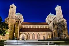 Kyrka för St Michaels, Hildesheim, Tyskland Arkivfoto