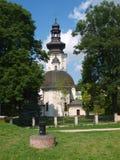 Kyrka för St Nicolas, ‡ för ZamoÅ› Ä, Polen royaltyfri fotografi