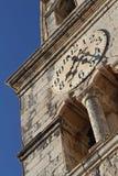 Kyrka för St Nikola i Cavtat, Kroatien Fotografering för Bildbyråer