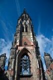 Kyrka för St. Nikolai. Hamburg Arkivbild