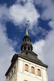 Kyrka för St Olafs, Tallinn Royaltyfri Fotografi