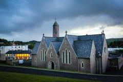 Kyrka för St Patrick ` s Donegal stad Ståndsmässiga Donegal ireland arkivfoton