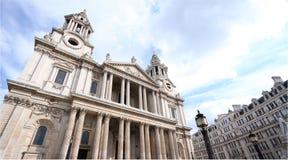 Kyrka för St. Paul, London, United Kingdom Fotografering för Bildbyråer