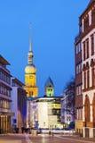 Kyrka för St Reinoldi i Dortmund Fotografering för Bildbyråer