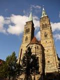 Kyrka för St. Sebald i Nuremberg, Tyskland Royaltyfri Bild