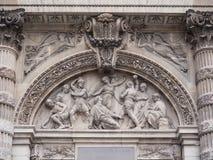 Kyrka för St Stephen ` s av monteringen i franskt: église helgon-Etie arkivfoto